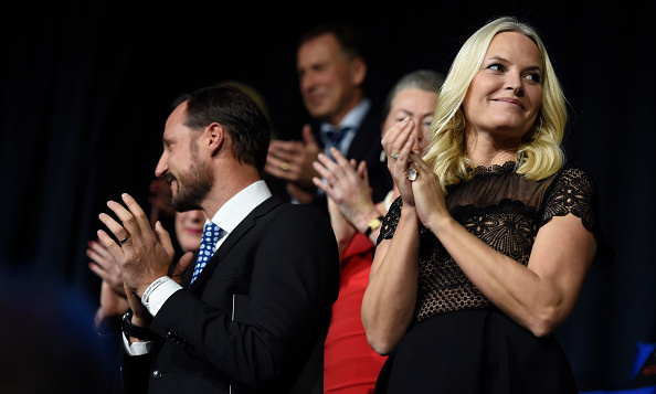 Crown Princess Mette-Marit (with husband Crown Prince Haakon) applauded performers like Jason Derulo and 'Take On Me' singers A-Ha at the Nobel Peace Prize concert in Oslo. 