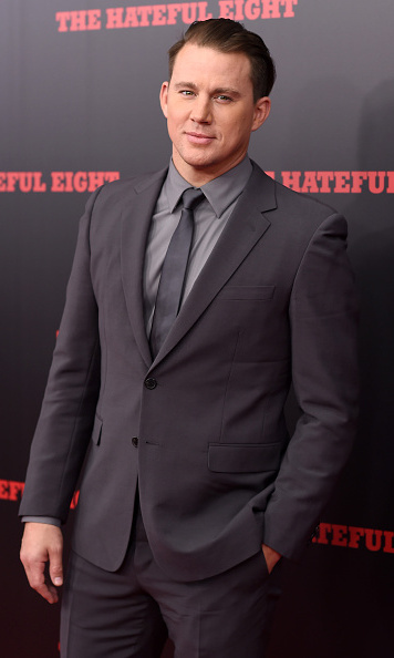 December 14: We're certainly not hating this look. Channing Tatum looked dapper at the premiere of 'The Hateful Eight' in New York City.