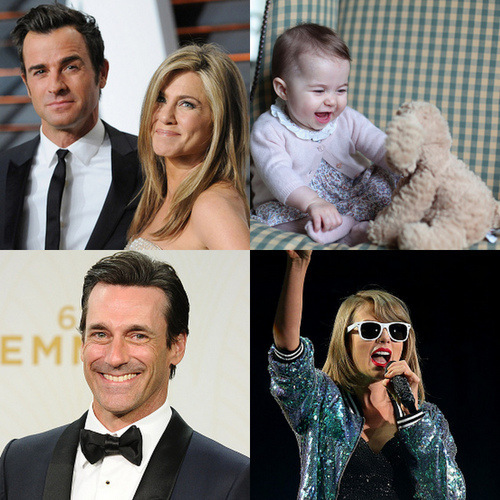 The past 12 months have been a whirlwind filled with high-profile celebrity weddings, career comebacks, movie releases, the birth of a little princess and more than a few squads!