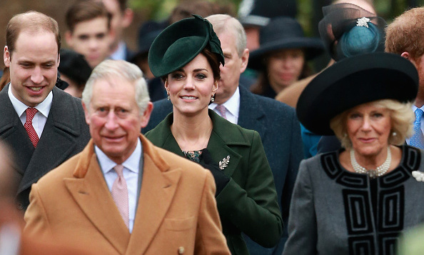 Parents-of-two Prince William and Kate Middleton joined other members of the royal family including Prince Charles and the Duchess of Cornwall, seen here, for Christmas Day church services at Sandringham.