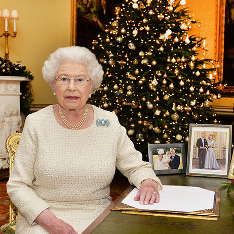 "The Queen delivered her traditional Christmas message on December 25. In her speech as the UK's longest reigning monarch, she reflected on the memorable year both within the royal family and around the world. Her Majesty quipped, ""I am looking forward to a busy 2016, though I have been warned I may have Happy Birthday sung to me more than once or twice.""