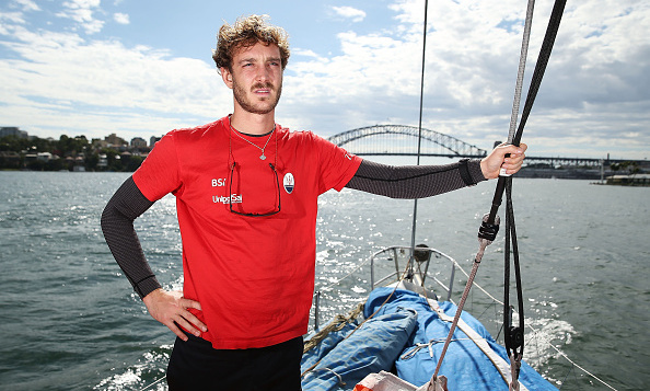 Princess Caroline's son Pierre Casiraghi was in competitive mode for Team Maserati during the Rolex Sydney Hobart Yacht Race in Australia.