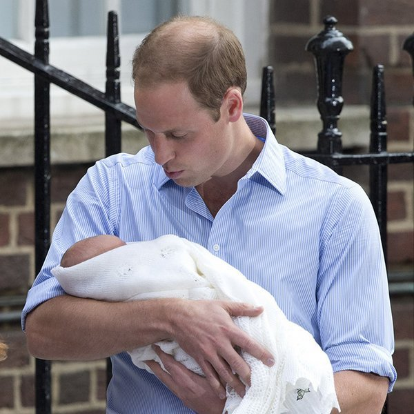 After years of wanting to be a dad, Prince William relished  his new role of father when Prince George was born.