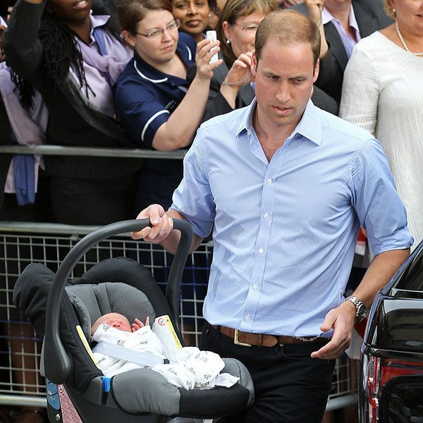 It was very important to down-to-earth William that he be the one to drive his wife and newborn son home to their residence in Kensington Palace.