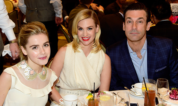 January 8: 'Mad Men' forever! Kiernan Shipka, January Jones and Don Draper himself, Jon Hamm reminisced at the AFI Awards.