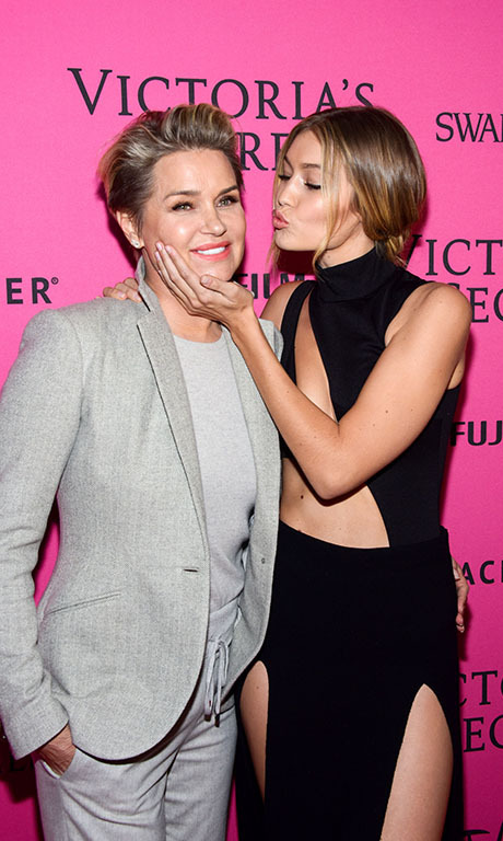 <b>Yolanda Foster and Gigi Hadid</b>