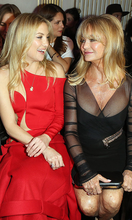 <b>Goldie Hawn and Kate Hudson</b>