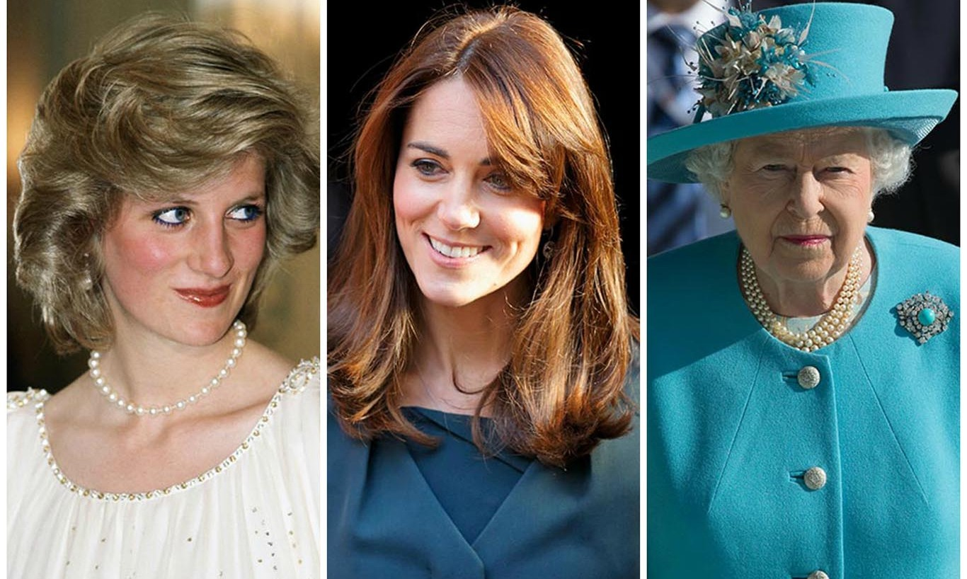 Beauty that has stood the royal test of time! Kate Middleton's perfect eye makeup, Queen Elizabeth's lipstick, Princess Diana's rosy cheeks... Here are 6 beauty tips from royals throughout the years.