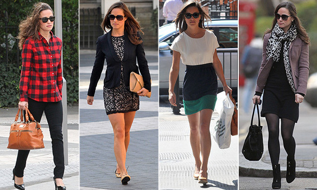 Pippa Middleton has certainly mastered the art of daytime dressing, whether she's courtside at Wimbledon or running errands around London. While older sister Duchess Kate is known for her glamorous gowns and stylish coat-dresses when she's representing the Palace, Pippa has perfected the casual chic ensemble.