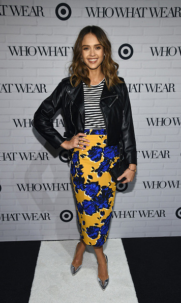 January 27: Honestly chic! Jessica Alba looked stunning during the Target and Who What Wear apparel and accessories collection launch event in NYC. 
