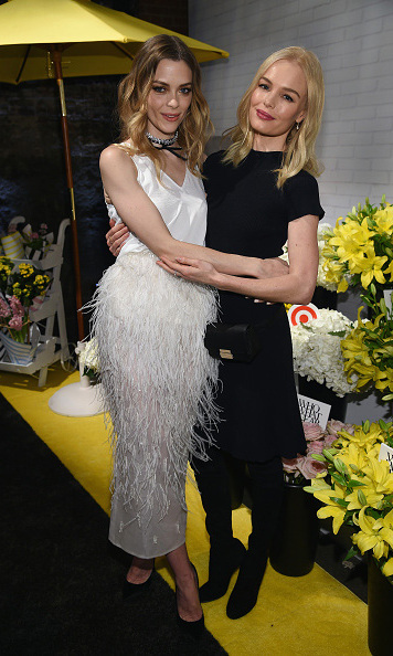 January 27: Girls' night! Jaime King and Kate Bosworth did some quality girl bonding during Target and Who What Wear's apparel and accessories collection launch event in NYC.