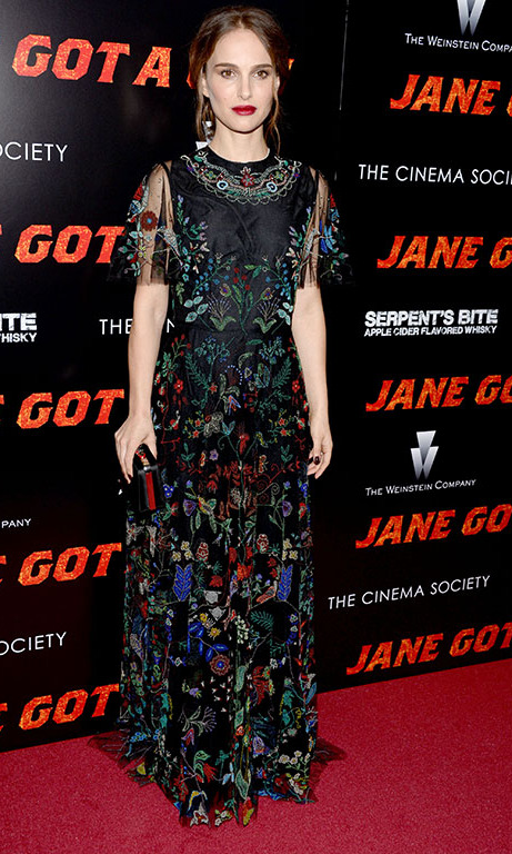 January 27: Natalie Portman looked flawless during The Weinstein Company with The Cinema Society and SERPENT'S BITE's  NYC Premiere of 'Jane Got a Gun.'
