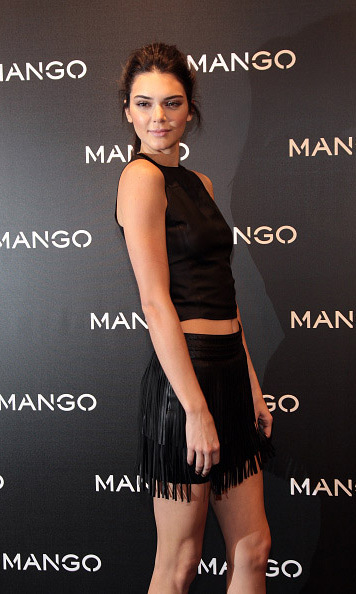 January 28: Kendall Jenner worked the red carpet during Mango's Tribal Spirit photo call in Barcelona. 