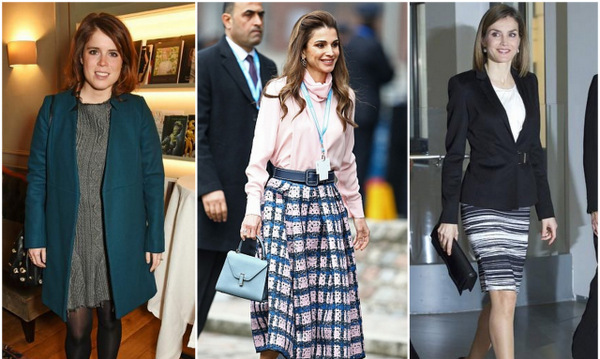 The tiaras were out this week for Sweden's pregnant royals, while Queens Letizia and Rania went for business looks. Click through to see all the week's best royal style! 