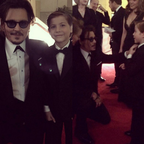 "That time Jacob met his ""favorite actor"" Johnny Depp at the Governors Awards. Recalling his encounter, he wrote, ""We are now best buddies! #mindblown."" The young actor's co-star Brie Larson admitted to Vanity Fair that Johnny and Jacob even ""have a handshake.""