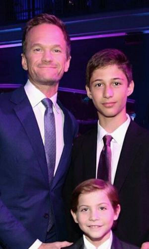 "The young actor reunited with his ""first movie dad"" and 'Smurfs 2' co-star Neil Patrick Harris at the CNN Heroes: An All-Star Tribute in 2015.