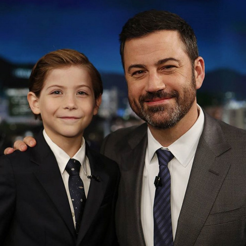 "J-squared. Jacob stopped by 'Jimmy Kimmel Live!' where he continued to captivate our hearts. The little heartthrob in the making admitted to host Jimmy, "" I do have a delicious face.""
