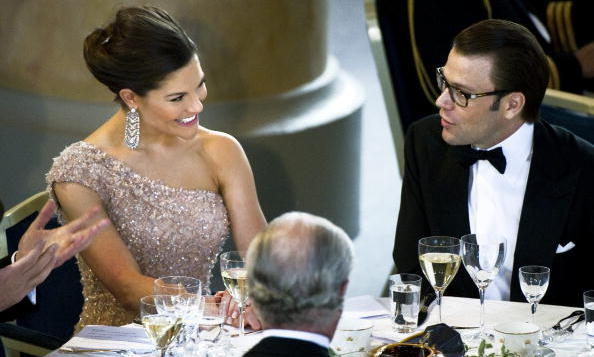 <B>CROWN PRINCESS VICTORIA AND PRINCE DANIEL OF SWEDEN</B>
