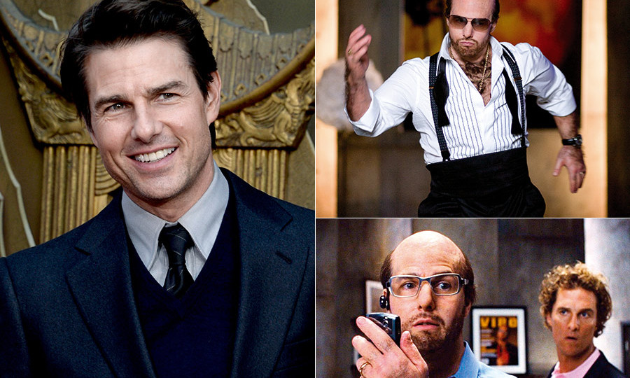 Hollywood transformations: The stars who went the extra ...Tom Cruise Tropic Thunder Dance Scene