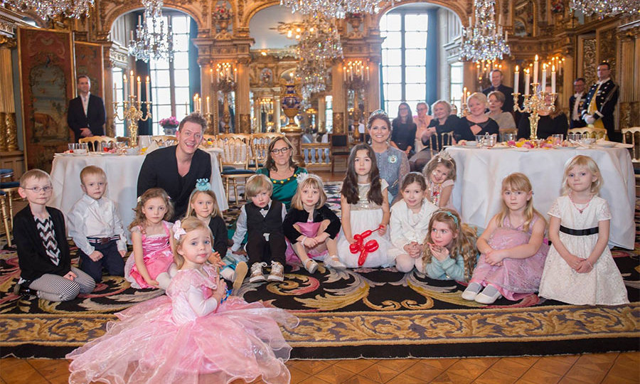 Princess Madeleine Of Sweden Throws Fairy Tale Tea Party