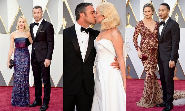 Oscars 2016 The Cutest Red Carpet Couples Hello Us