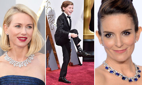 Oscars 2016 our favorite red carpet jewelry and for Jewelry at the oscars 2016