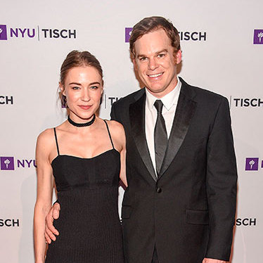 Michael C Hall and Morgan Macgregor<br>