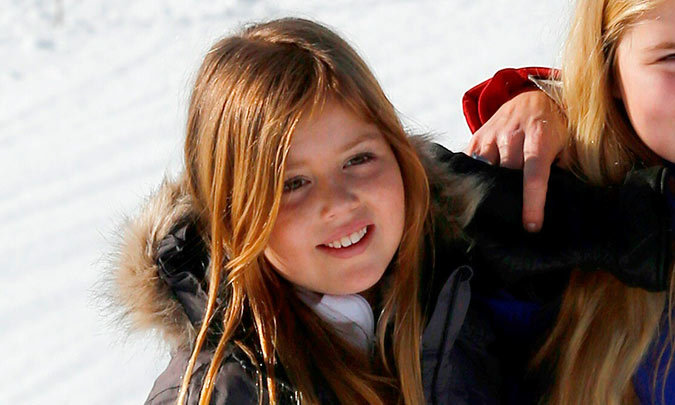 Princess Alexia Of The Netherlands Recovering From Skiing