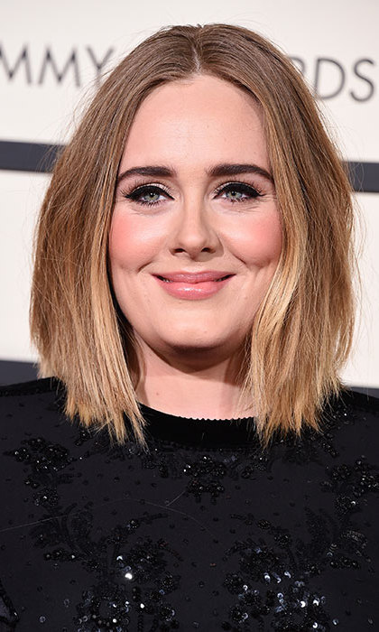 "After a three-year hiatus, mom-of-one Adele made a dramatic comeback with her single ""Hello – and shocked fans by debuting a much shorter hairstyle, a long textured bob.
