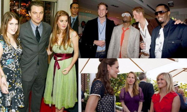 Remember when Harry met Kanye? Or when Leonardo DiCaprio was a winning combo with Princesses Beatrice and Eugenie on the red carpet? Here we take a look back at some of our favorite photos of stars meeting royals.