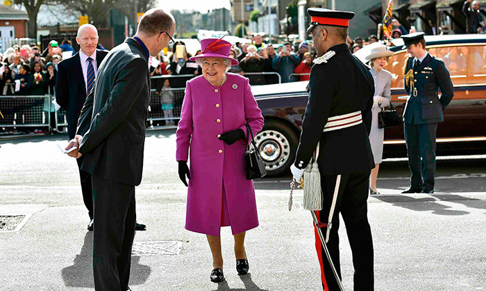 Queen Elizabeth looked lovely in purple as she attended royal events in London.
