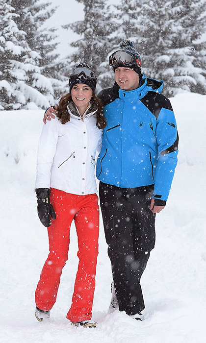 Kate kept her cool on the slopes of French ski resort Courchevel. The royal opted for a ski outfit from British brand E and O.<br /><br />
