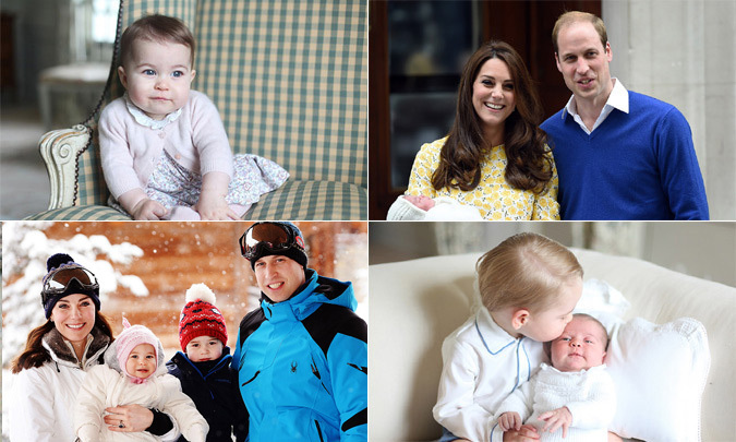 "<a href=""http://us.hellomagazine.com/tags/1/princess-charlotte""><strong>Princess Charlotte</strong></a> is turning out to be every ounce as cute as her big brother <a href=""http://us.hellomagazine.com/tags/1/prince-george""><strong>Prince George</strong></a>. As the little royal gets older, there will be plenty more photo opps of Prince William and Kate Middleton's baby girl. 