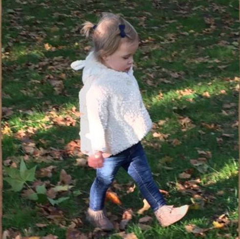 Too cute! Following their move from Sweden to London, Princess Madeleine shared a cute snap of her daughter Princess Leonore enjoying the afternoon in the park.