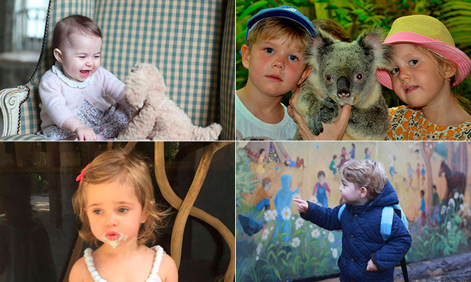 Traditionally royal families turn to a professional photographer for official portraits and to mark major milestones. Recently however, the royals have taken it upon themselves to get behind the camera and capture special family moments.