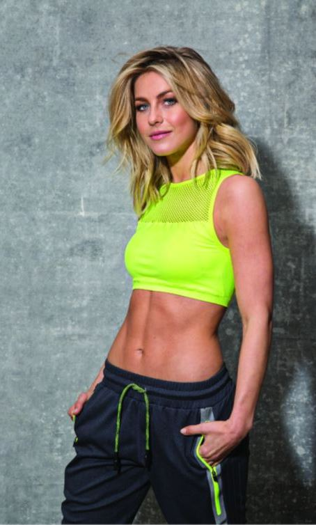 "Julianne Hough is the latest celebrity to join forces with a workout brand. The dancer turned actress helped design the latest collection for MPG Sports called ""Jules."" 