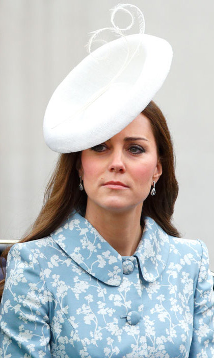 For Trooping the Colour in 2015, Kate wore a bespoke version of Lock & Co's Marisabel Hat, which retailed for $1,200.