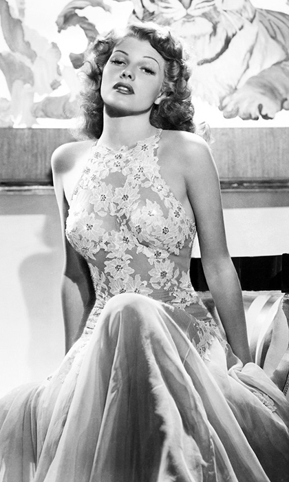 <b>Rita Hayworth, consort to Prince Aly Aga Khan</B>