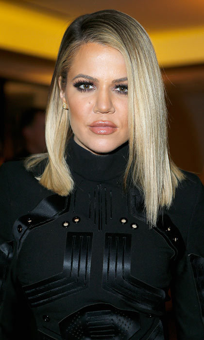Khloé Kardashian took the chop in October 2015 and she has never looked back since. The reality TV star likes to mix up her style wearing her 'lob' straight or in relaxed waves.