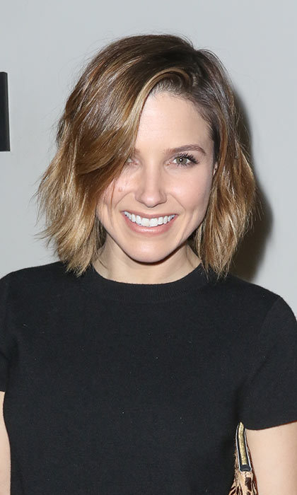 Sophia Bush looks effortlessly cool with her shaggy bob. The fun and fresh 'do is easy to adapt and really easy to maintain.