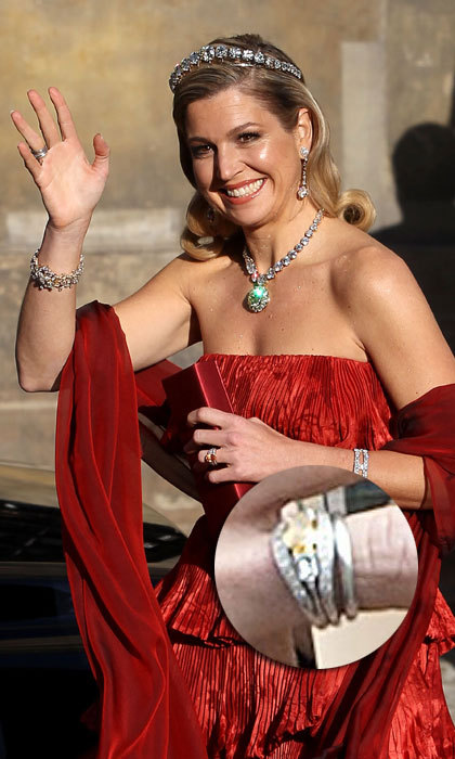 "<a href=""http://us.hellomagazine.com/tags/1/queen-maxima""><strong>Queen Máxima of the Netherlands</strong></a>