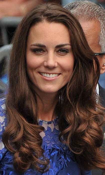 Kate turned heads with bouncy curls at the Freedom of the City Ceremony in Quebec.