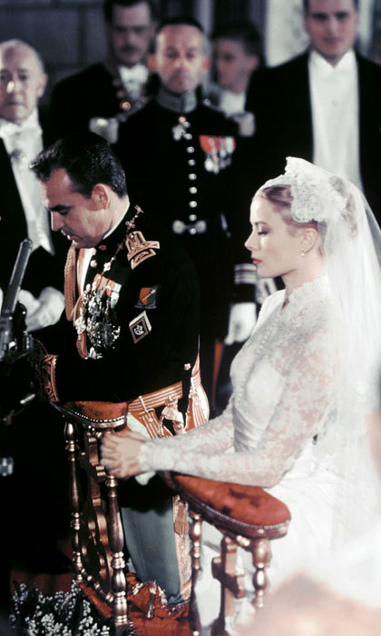 The royal couple had their religious ceremony in the Cathedral of Monaco. They had around 600 guests and over 30 million TV viewers watched from their homes. The event was dubbed the wedding of the century. 