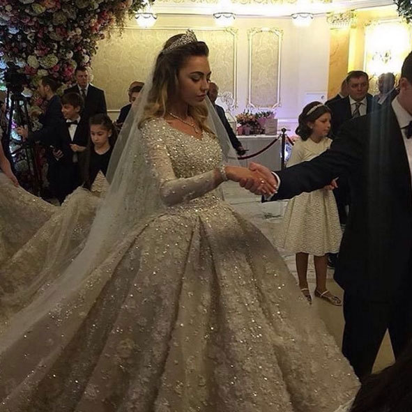 <b>Khadija Uzhakhovs and Said Gutseriev</b>