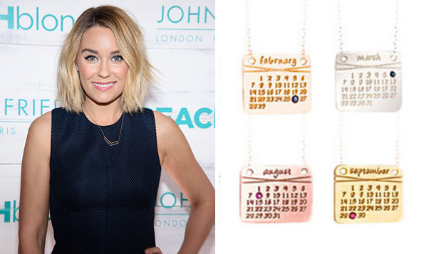 Remind yourself of an especially joyous occasion on a mini calendar created by Dalla Nonna, which is completely tailor-made down to the tiny gemstone marking the date.