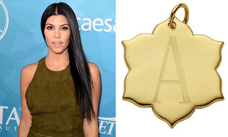 Whether you prefer an initial, a meaningful date or a special name, both sides of Jordann Jewelry's charm can be custom-crafted in three font styles. 