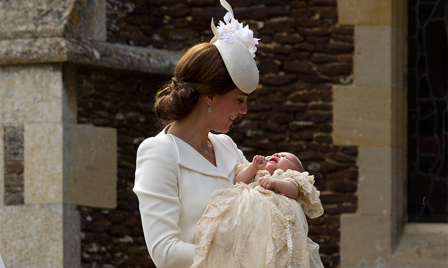 The new Princess was christened at St. Mary Magdalene Church in Sandringham on July 5, 2015. The little girl looked adorable dressed in the same beautiful lace gown that her older brother wore for his christening.