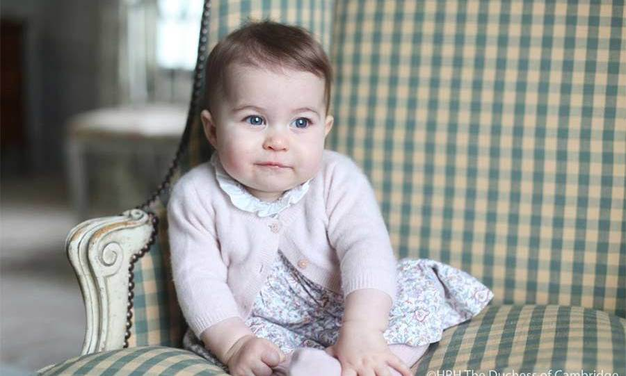 "The royal couple released <a href=""http://us.hellomagazine.com/royalty/1201512029635/princess-charlotte-dress-designer-solo-portrait/""><strong>the first solo official portraits of Charlotte</strong></a> at the end of November 2015, showing just how much she had changed in the months since her christening.