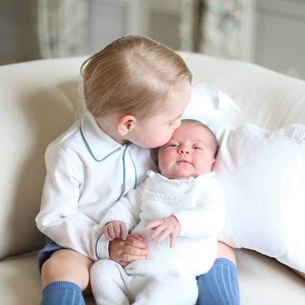 "Princess Charlotte's family was clearly smitten by the new arrival, with both Prince Charles and <a href=""http://us.hellomagazine.com/tags/1/prince-harry/""><strong>Prince Harry</strong></a> describing the baby girl as ""beautiful.""
