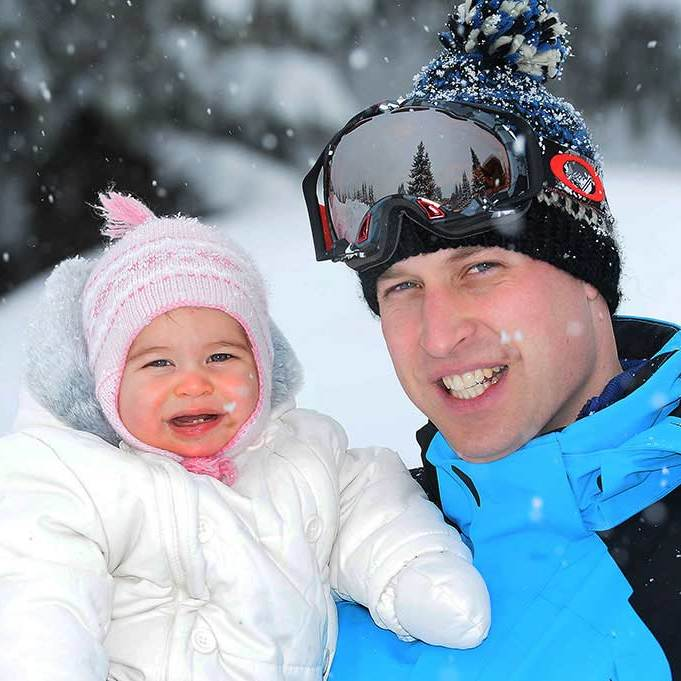 "Not only did the holiday photos show Charlotte's striking resemblance to her father Prince William, but they also proved that she had reached <a href=""http://us.hellomagazine.com/royalty/12016030712465/princess-charlotte-baby-teeth-new-portrait-milestone/""><strong>another important milestone</strong></a> – showing her first two teeth.